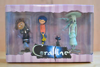 Coraline Figures Neca Pvc 2008 Reel Toys Wybie, Cat, Ghost Child