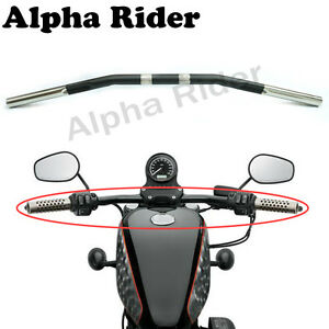 """For Harley XL Sportster 883 /& 1200 Matte Black 1/"""" Diameter Drag Bar Handlebar"""