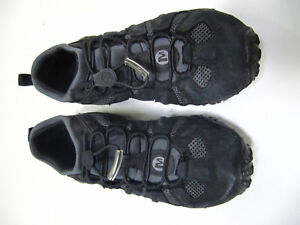 hot-selling fashion biggest selection skilful manufacture Details about Men's Merrell Black Size 7 Hiking Trail Shoes Select Grip  Sole EUC