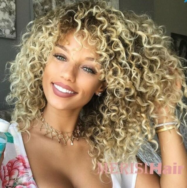 MISSWIG Short Kinky Curly Wigs for Black
