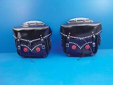 V-Twin 48-3156 - Rigid Loctite Saddlebags Black