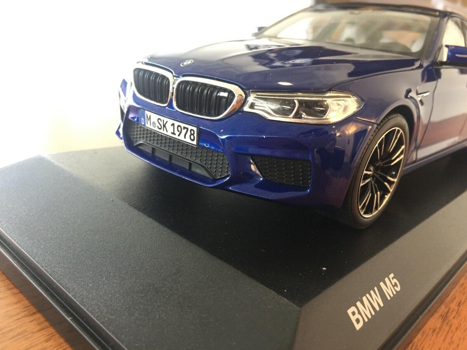 BMW f90 m5 1 18 scale 1 18