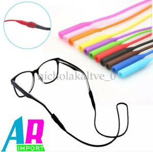 Glasses Silicone Strap Neck Cord Sunglasses Eyeglasses String Lanyard Holder