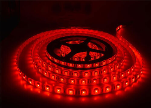 Boat Accent Light WaterProof Red LED Lighting Strip RV SMD 3528 300 LEDs 16 ft