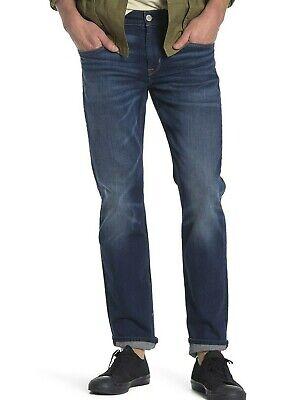 $ 198 Nuova Con Etichetta Hudson Sz34 Byron Dritto Elasticizzato Jeans Denim In