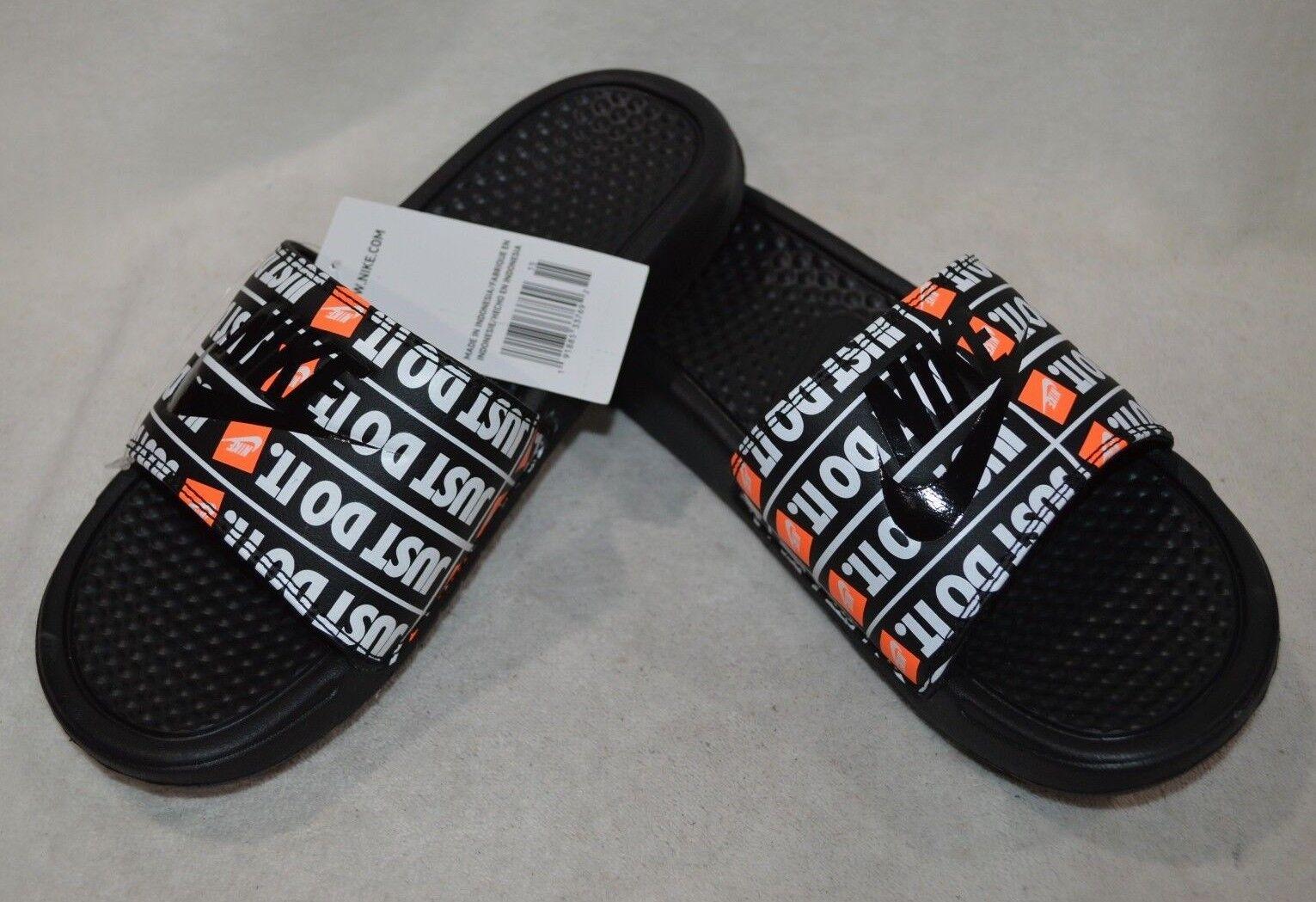 ed5d6d47ee5e Nike Men s Benassi JDI Print Black black 11 M US for sale online