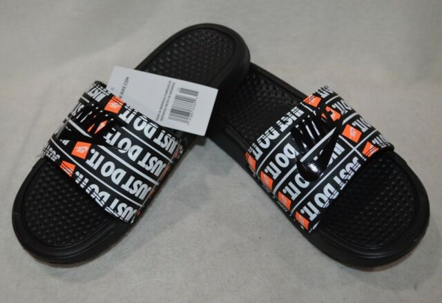 cf20a024ce3b Nike Benassi JDI Print Black Multi Men s Slide Sandals - Sizes 8 9