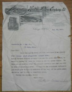 1900-Letterhead-Chicago-Illinois-Austin-and-Western-Company-Scraper-Sale