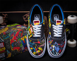 Details about Vans X-MEN Marvel Comics Era Lo Skate Shoe Sneaker