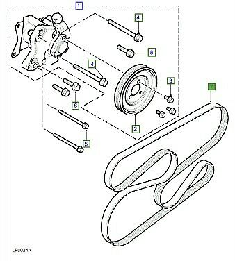 Land Rover Engine Belt Diagram 4