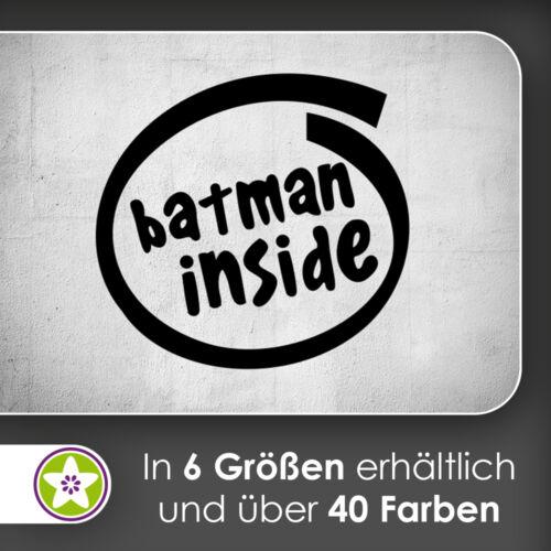 Waf1366-Batman Inside mural Kiwistar-Autocollant