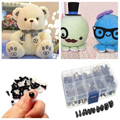 100Pcs Plastic Safety Eyes Doll Making Kits with Washers 6//8//9//10//12MM for Plush Felting Animal Teddy Bear Toys 6mm