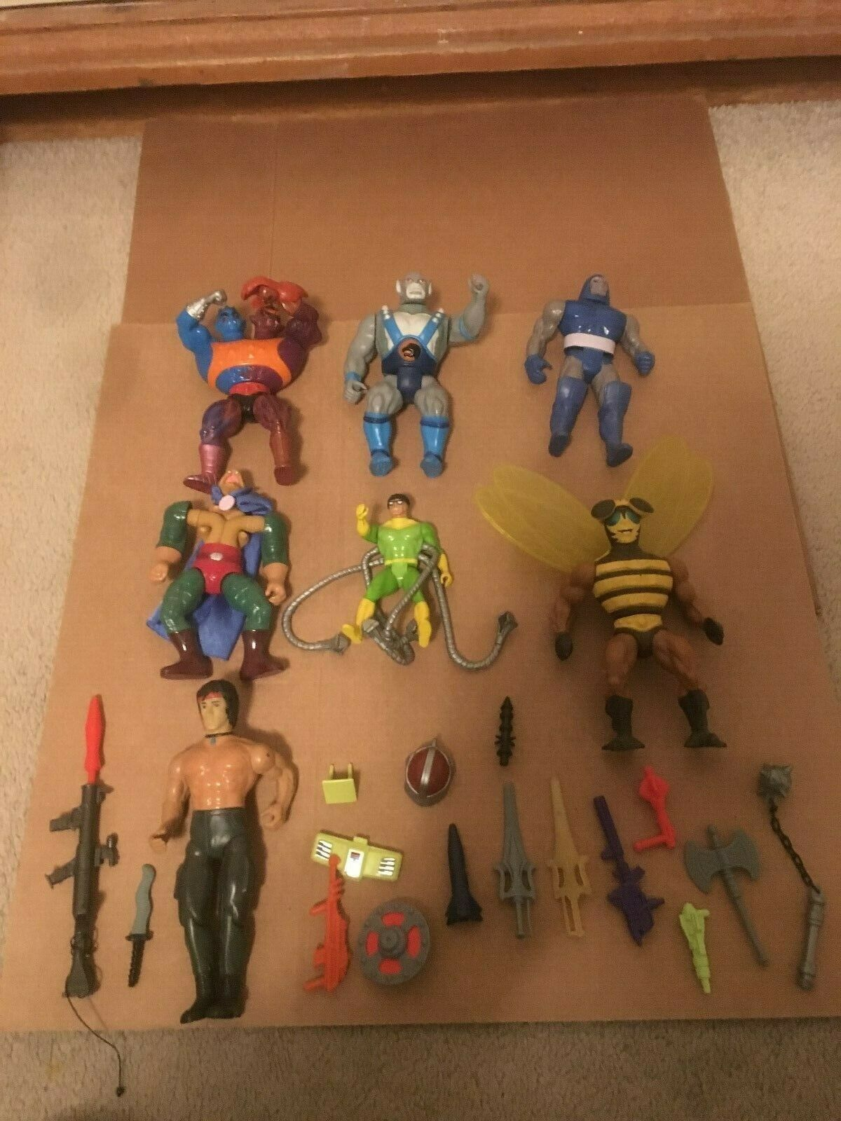 Action figures from the 80s I think. see pictures.