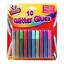 Childrens pintura ollas Glitter Pegamento Colorante Lápices tiza niños artes y artesanías Set