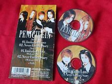 "PENICILLIN Imitation Love / 3"" Japanese TWO MINI Single CDs JAPAN J-POP / UK DSP"