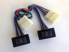 2 Rs311 New Universal 5 Pre Wires Power Door Lockpower Window Rocker Switch
