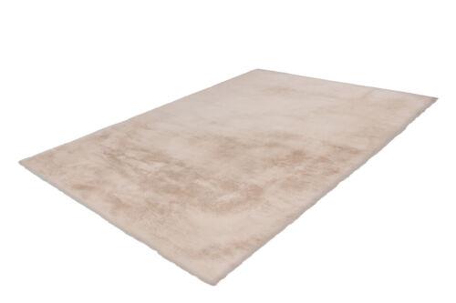 Arte espina alta flor alfombra fell óptica suave confortable cosy beige 180x280cm