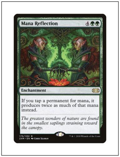 Magic the Gathering MTG Double Masters 2XM 1x Mana Reflection