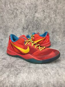 e3c575d97d90 Nike Kobe 8 Year Of The Horse Mens Basketball Shoes Size 8 Red Blue ...