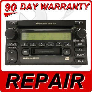 Image Is Loading Repair Service Only Toyota Jbl Radio Stereo 6