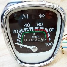 HONDA C65 C50 C70 C90 SPEEDOMETER ODOMETER BACKLIGHT WATERPROOF BIKE JAPAN NEW