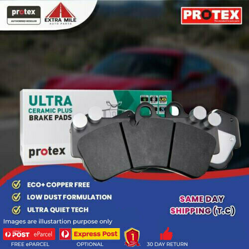 Ceramic Plus Brake Pad Set Rear For Toyota Caldina 2.0 ST1G Petrol 92-97