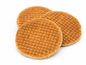 Dutch Syrup Caramel Wafers Waffle Biscuits Stroopwafels 2 4 8 20 40 100 Ebay