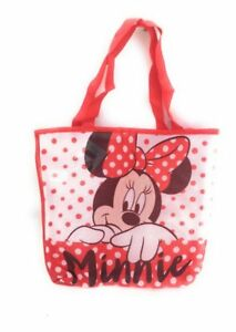 Sac-Shopping-Minnie-Minnie-Mouse-Disney-Sac-de-plage-Cabas-rouge