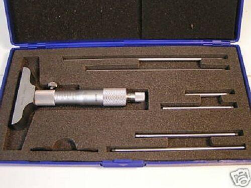 Profondeur Micromètre 0-150mm W 63mm Base