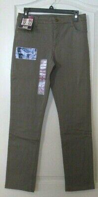 NEW Womens Bandolino  Amy Modern Straight Jeans Deluxe Stretch Sz 16 Falcon
