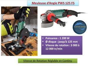 Meuleuse-d-Angle-PWS-125-F5-avec-Revetement-Softgrip-Antiderapant-1200-W-Neuf