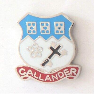 004 Aberfoyle Village Perth /& Kinross Scotland Small Crest Pin Badge