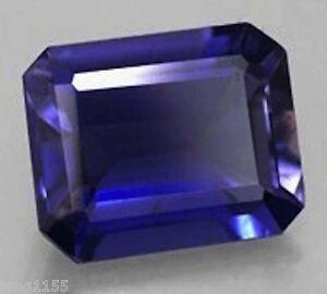 12X10mm-9-62CT-AAAAA-Natural-Blue-Zircon-Diamonds-Cut-Octagon-VVS-Loose-Gems