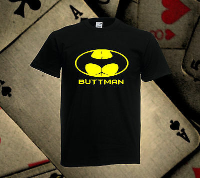 Buttman tshirt Funny Novalty t-shirt Gift t shirt *Free UK Delivery* All Sizes