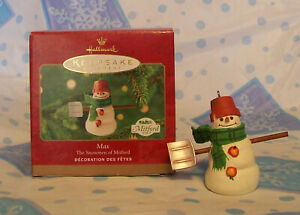 Hallmark-Keepsake-Ornament-Max-Snowman-of-Mitford-2000-NIB