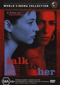 Talk-To-Her-DVD-2003-Very-Good-Condition-Region-4-DVD