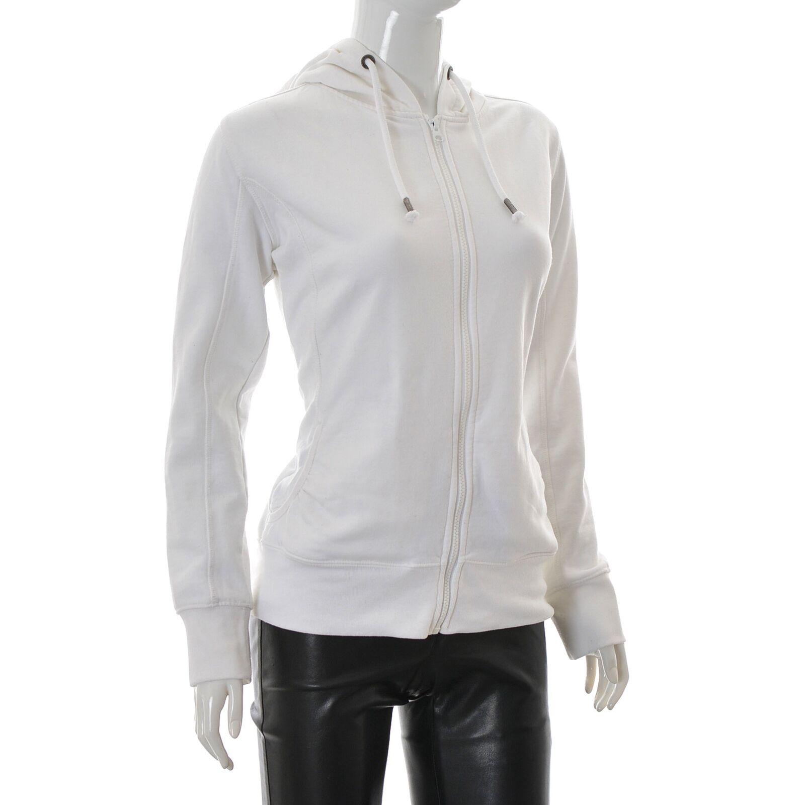 Engelbert Strauss for Women's jumper Full Zip Hoodie Sweatshirt Medium M White