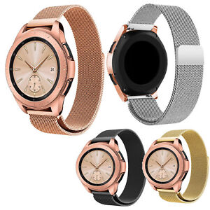 Magnetic-Buckle-Milanese-Loop-Band-Strap-For-Samsung-Galaxy-Watch-R810-42mm