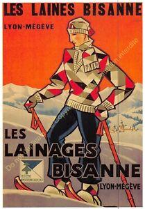 CP Postcard Poster Advertising the Wool Bisanne Edit Clouet 10384