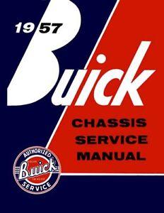 1957 Buick Service Shop Repair Manual Book Engine Drivetrain Electrical Guide