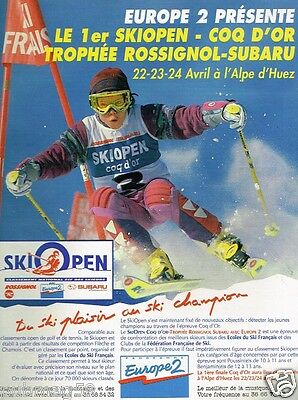 Collectibles Other Breweriana Ski Open Publicité Advertising 1994 Radio Europe 2..