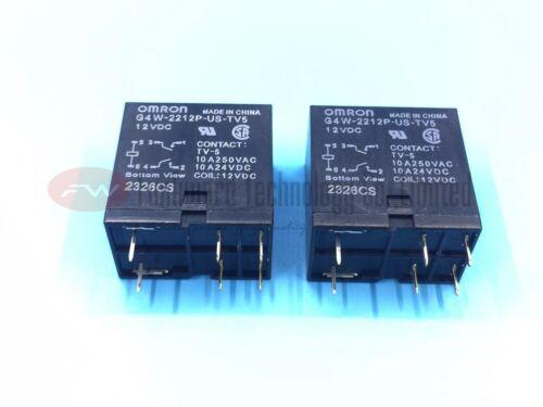 Relé de propósito general G4W-2212P-US-TV5 DC12 10A 12VDC X 2 un.