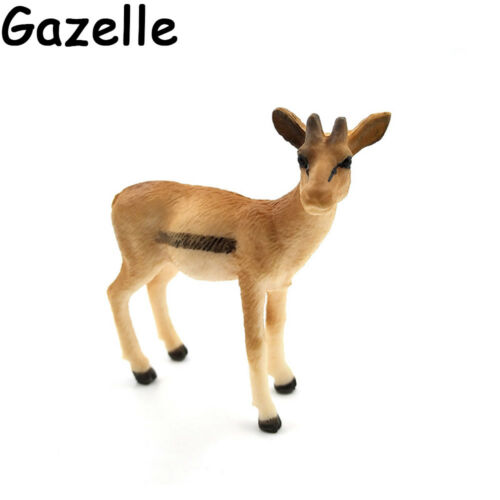 Panda Statue Wild Animal Model Zoo Series Figurines Miniature Wildlife Kids Toy