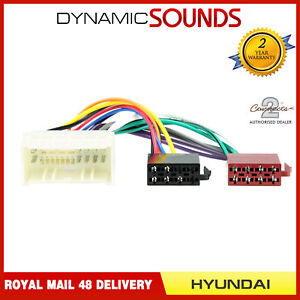 Excellent Ct20Ki02 Car Stereo Wiring Harness Adaptor Iso Lead For Hyundai Kia Wiring 101 Capemaxxcnl