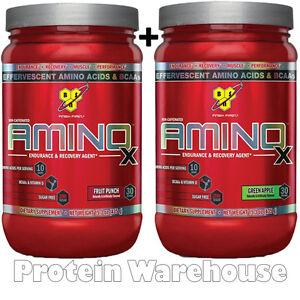 BSN-Amino-X-Energy-60-Servings-2-x-435g-AminoX-Bcaa-Gym-Training