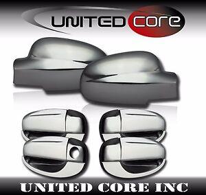Chevy Cruze 11-15 Chrome Mirror Cover Chrome Door Handle Cover