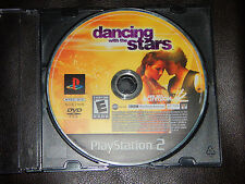 Dancing With the Stars Sony PlayStation 2 PS2 2007 Game Only Free Shipping TV