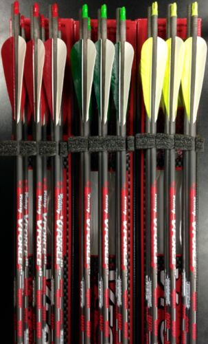 Victory V force Feather Arrows 400 500 600 cut to length and insert installation