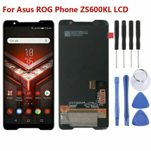 Noir-Pour-Asus-ROG-Phone-ZS600KL-LCD-Display-Touch-Screen-Digitizer-Assembly-ARF