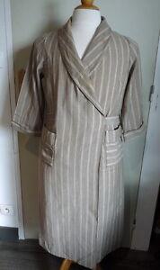 robe de chambre ancienne femme/homme coton et lainage vers 1930   ebay
